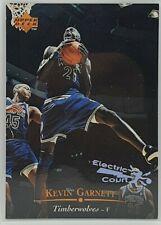1995-96 Upper Deck Kevin Garnett Electric Court Parallel RC