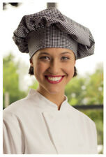 Togue Chef Hats, Cotton Twill 7.5 oz, Houndstooth - 150