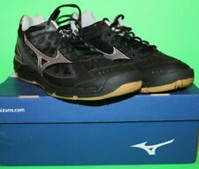 Mizuno Wave Supersonic Women's Indoor Volleyball Shoes Black Silver Size 11 NEW