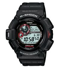 Casio G-Shock * G9300-1 Solar Mudman Twin Sensor Compass Thermo COD PayPal