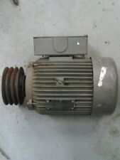 TOSHIBA WORLD ENERGY SERIES INDUCTION MOTOR SINGLE PHASE 3HP 1720 RPM