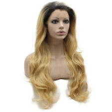 Blonde Ombre Long Wavy Synthetic Wig