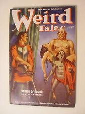 Weird Tales, July 1938, Vol 32 No 1, Spawn of Dagon - Kuttner, Robert Howard