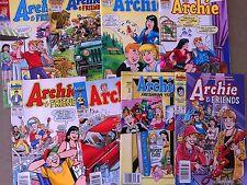 8 ARCHIE & Friends COMICS  Betty Veronica  JUGHEAD  Lot B2
