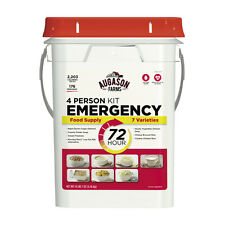 Augason Farms 176 Servings Food Supply Storage Emergency Survival Bucket MREs