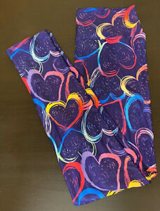Crazy Little Thing Called Love Casual Printed Leggings UK 8-12 (FREE P&P)