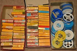 Vintage 8MM Home Movies Lot of 86 Reels Most 1960s & 70's Kodachrome
