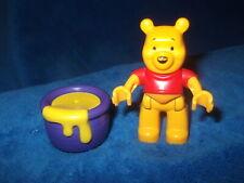Lego Duplo Ville Figur Winnie Pooh aus 5947 5945 Gelb Honigtopf neueres Modell