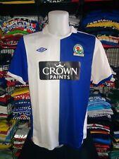 Maglia Calcio BLACKBURN ROVERS football shirt trikot camiseta maillot 2010-11