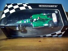 1/18 MINICHAMPS JAGUAR RACING R4 MARK WEBBER 2003