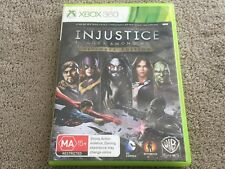 Injustice Gods Among Us - Ultimate Edition - XBox 360 Game - FREE POST