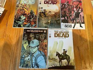 The Walking Dead Comic Book Lot 5 - Walking Dead Deluxe Issue 2 (5 covers!)