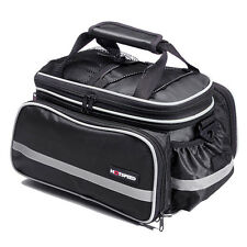 Bicycle Luggage Road Mountain Bike Rear Seats Rack Cargo Carrier Container Bag