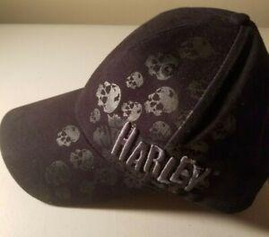 Harley Davidson  Black  Baseball Ball Cap Hat San Francisco