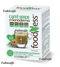 FoodNess 30 Capsule Caffè VERDE GANODERMA Compatibili Dolce Gusto Senza Glutine
