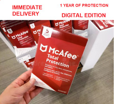 McAfee Total Protection 2020 DIGITAL EDITION (PC/Mac/Android/iOS) antivirus MCAF