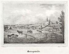 Bassa Bosco-Veduta generale-CHIESE-Galleria-LITOGRAFICO 1843