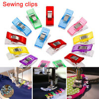 100× Wonder Clips For Fabric Quilting Craft Sewing Knitting Crochet DIY