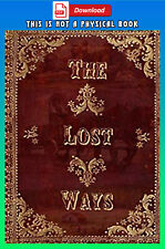 The Lost Ways by Claude Davis 3rd Edition [ P-D-F ]