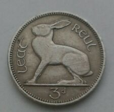 Ireland Eire 3 Pence 1964. KM#12a. Three Cents coin. Hare. Rabbit. Animals.