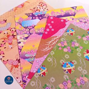 Japanese Pattern 100 Pcs Sakura Folding ORIGAMI CHIYOGAMI CRAFT PAPER Landscape