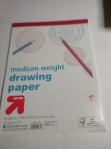 Up and up Medium Weight drawing paper 40 sheets