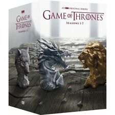 Game of Thrones Seasons 1-7 (DVD 2017, 34-Disc) DVD 1 2 3 4 5 6 7 Box set New