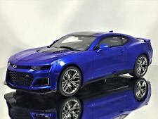 GT Spirit Chevy Chevrolet Camaro ZL1 2017 Hyper Blue Resin Model Car 1:18