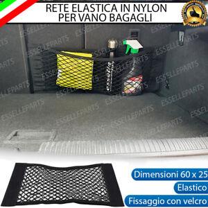 RETE ELASTICA PER BAGAGLIAIO VANO BAGAGLI CON VELCRO 60 X 25 cm MINI COOPER R56