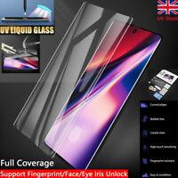 UV Full Glue Gorilla Curved Liquid Tempered Glass For Samsung Galaxy S8,S9+,S10+