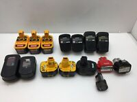AS-IS Lot of15 Mix Battery Ryobi, Dewalt, Makita, Black&Decker, Craftman, Ridgid