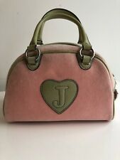 Juicy Couture Pink And Green Hand Bag