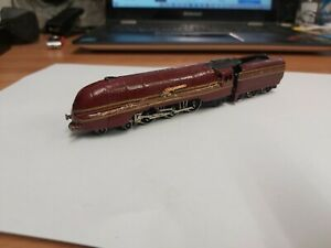 graham farish n gauge 4-6-2 lms red coronation class locomotive loco train