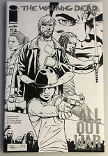 THE WALKING DEAD #150 ALL OUT WAR SKETCH VARIANT KIRKMAN SKYBOUND