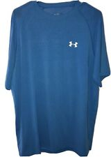 Mens Under Armour Blue Short Sleeve Heat gear T-shirt Size Medium