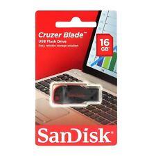 SanDisk cruzer Blade 16gb Stick USB 16 gb OVP sdcz 50-016g-b35