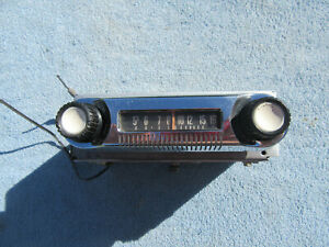 1961 62 63 64 65 66 Ford Truck Original AM Radio Bendix Model Number 6TBT