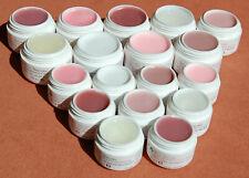 9 Farben Acrylgel UV LED Camouflage Polygel Milky Rouge Cover Klar Babyrosa