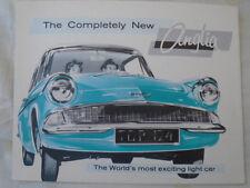 Ford Anglia brochure Jan 1960 USA market