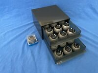 Vintage IBM SELECTRIC l & ll Lot of 19 Typewriter Font Balls Original IBM Case