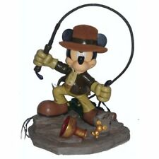 Disney Parks Mickey Mouse Indiana Jones Medium Big Fig Figure Statue - New
