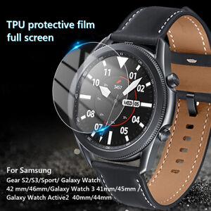 For Samsung Galaxy Gear Sport Active 2 Smart Watch Screen Protector TPU Film 00