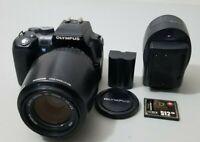 Olympus Evolt E500 E-500 4/3 DSLR Camera with 40-150mm Lens *GOOD/TESTED*