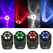 4 Pack 100W RGBW Light DMX-512 Stage Lighting DJ Disco Xmas Party Lights 11CH