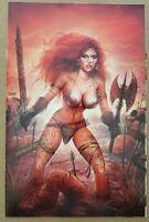 Red Sonja Age of Chaos #6 Comic - Alex Saviuk & Nathan Szerdy Virgin Variant