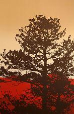 "Jim Boutwell ""Ponderosa I"" Hand Signed Fine Art Serigraph, tree, landscape, OBO"