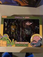 New ListingNeca Tmnt Teenage Mutant Ninja Turtles Donatello Vs Krang Target Excl. 2 Pack