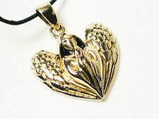 Praying Angel Bronze Pendant by Lisa Parker