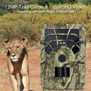 Hunting Camera 12MP 720P PR300A Wild Animals Trail Camcorder for Farm Security