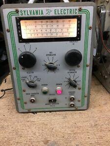 Vintage Sylvania Electric Television TV Marker Generator Type 501